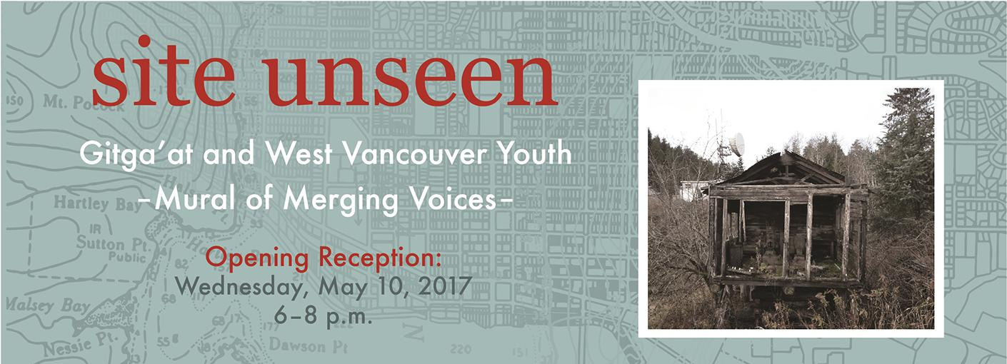 Site Unseen: Gitga'at and West Vancouver Youth - Mural of Merging Voices